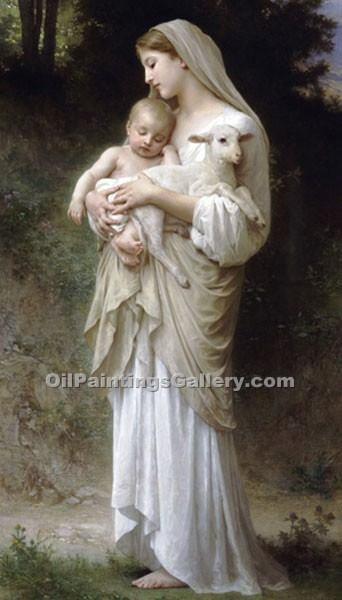 """ Linnocence "" by  Adolphe Bouguereau"