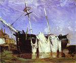 Bonington Oil Paintings
