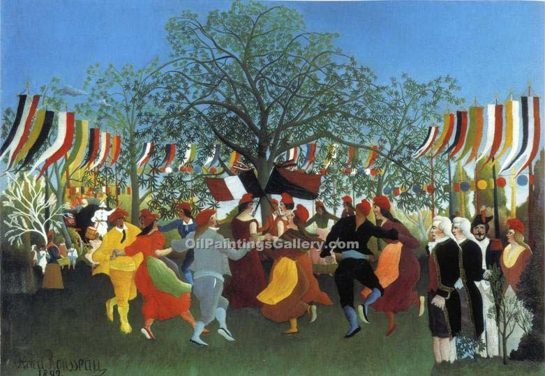 """A Centennial of Independence"" by  Henri Rousseau"