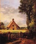 A Cottage in a Cornfield by  John Constable (Painting ID: LA-2906-KA)