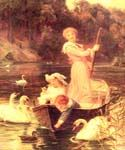 A Day On The River by  Frederick Morgan (Painting ID: CL-4052-KA)
