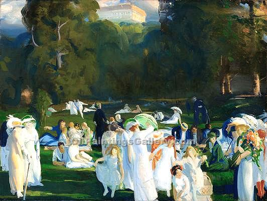 """A Day in June 46"" by  George Bellows"