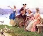 A Day s Outing 77 by  Federico Andreotti (Painting ID: EI-0077-KA)