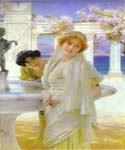 A Difference of Opinion 08 by  Sir Lawrence Alma Tadema (Painting ID: EI-1308-KA)