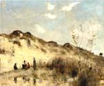 A Dune at Dunkirk by  Jean Baptiste Corot (Painting ID: CO-0894-KA)