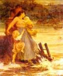 A Flood by  Frederick Morgan (Painting ID: CL-4053-KA)