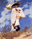 A Gust of Wind by  John Singer Sargent (Painting ID: ED-0530-KA)