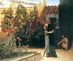 A Hearty Welcome by  Sir Lawrence Alma Tadema (Painting ID: EI-1251-KA)