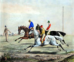 A Hurdle Race by  Henry Alken Samuel (Painting ID: AN-0093-KA)