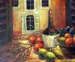 A Kitchen in Tuscany  (Painting ID: SL-1559-KA)