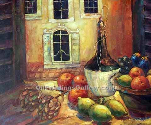 """A Kitchen in Tuscany"""