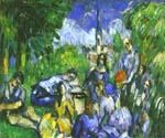 A Lunch on Grass by  Paul Cezanne (Painting ID: EI-1480-KA)