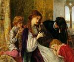 A Music Party by  Arthur Hughes (Painting ID: CL-2074-KA)