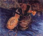 A Pair of Boots by  Vincent Van Gogh (Painting ID: VG-0495-KA)