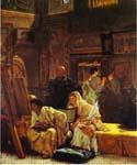 A Picture Gallery by  Sir Lawrence Alma Tadema (Painting ID: EI-1309-KA)