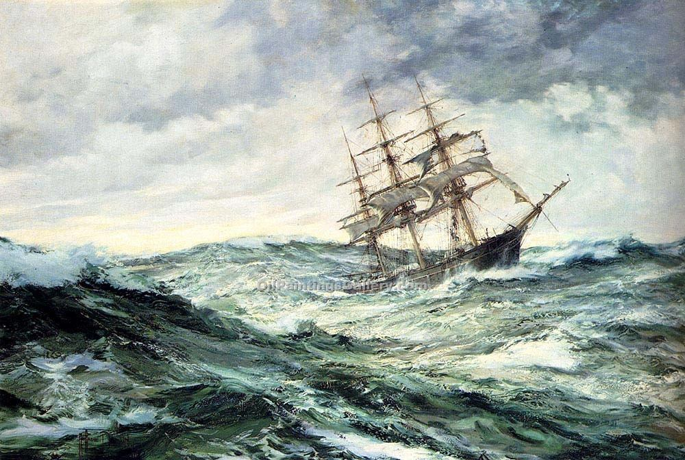 """A Ship in a Stormy Seas"""