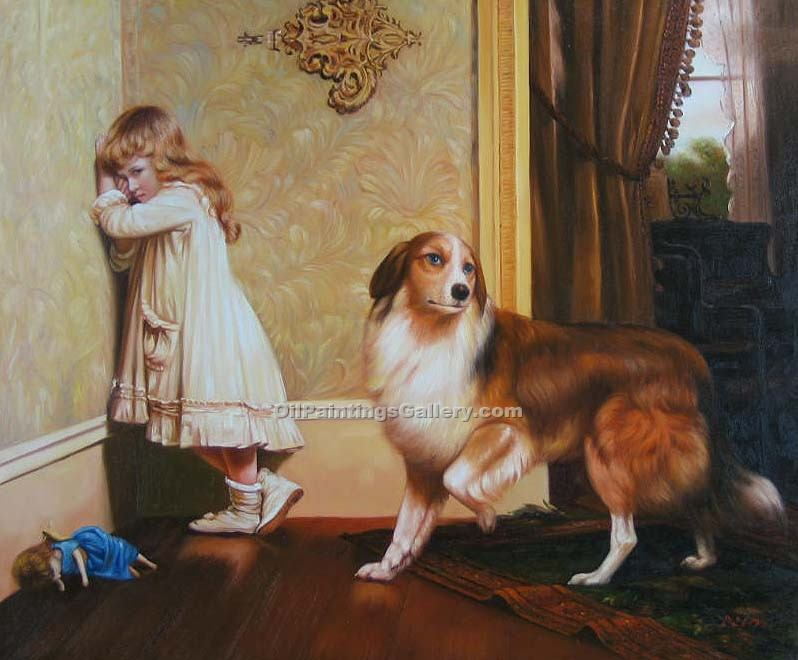 """A Special Pleader"" by  Charles Burton Barber"