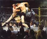 A Stag at Sharkeys by  George Bellows (Painting ID: GE-2207-KA)
