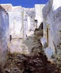 A Street in Algiers by  John Singer Sargent (Painting ID: LA-0210-KA)