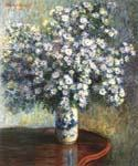 A Vase of Asters by  Claude Monet (Painting ID: SL-0089-KA)