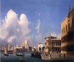 A View of Venice, The Grand Canal by  Ippolito Caffi (Painting ID: CI-0325-KA)