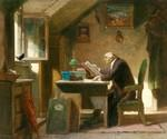 A Visit by  Carl Spitzweg (Painting ID: CO-1050-KA)
