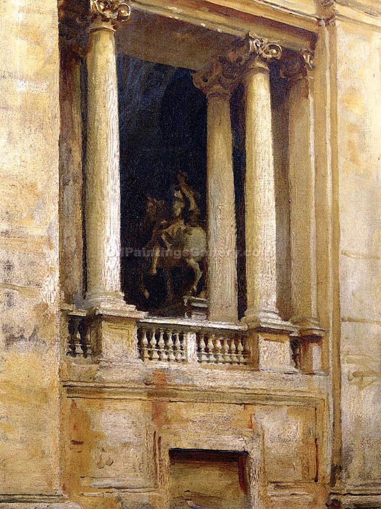 """A Window in the Vatican"" by  John Singer Sargent"