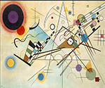 1923 Composition VIII by  Wassily Kandinsky (Painting ID: AA-0117-KA)