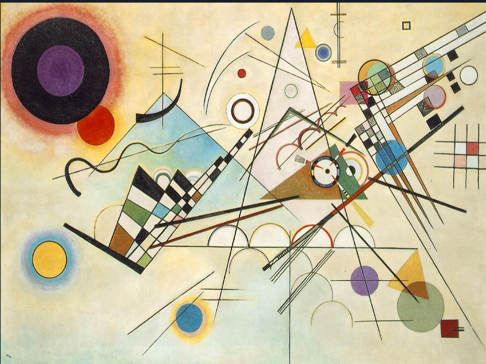 1923 Composition VIII by Wassily Kandinsky | Abstract Acrylic Paintings - Oil Paintings Gallery