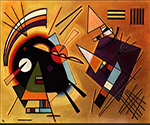 1923 Black and Violet by  Wassily Kandinsky (Painting ID: AA-0118-KA)
