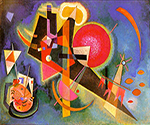 1925 In Blue by  Wassily Kandinsky (Painting ID: AA-0126-KA)