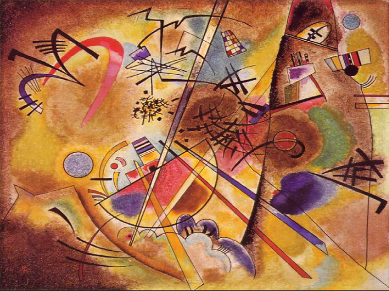 1925 Small Dream in Red by Wassily Kandinsky | Art Gallery Oil Painting - Oil Paintings Gallery