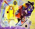 1925 Yellow-Red-Blue by  Wassily Kandinsky (Painting ID: AA-0129-KA)