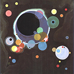 1926 Several Circles by  Wassily Kandinsky (Painting ID: AA-0133-KA)