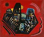 1928 Black-Red by  Wassily Kandinsky (Painting ID: AA-0135-KA)