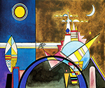 1928 The Great Gate of Kiev by  Wassily Kandinsky (Painting ID: AA-0140-KA)