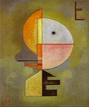 1929 Upward by  Wassily Kandinsky (Painting ID: AA-0145-KA)