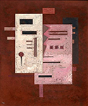 1933 Soft Roughness by  Wassily Kandinsky (Painting ID: AA-0153-KA)
