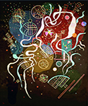 1935 Movement I by  Wassily Kandinsky (Painting ID: AA-0157-KA)