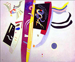 1935 Orange-Violet by  Wassily Kandinsky (Painting ID: AA-0158-KA)