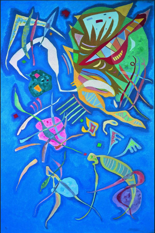 """1937 Grouping"" by  Wassily Kandinsky"