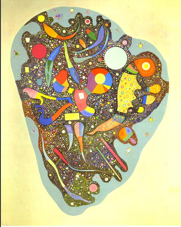 """1938 Colorful Ensemble"" by  Wassily Kandinsky"