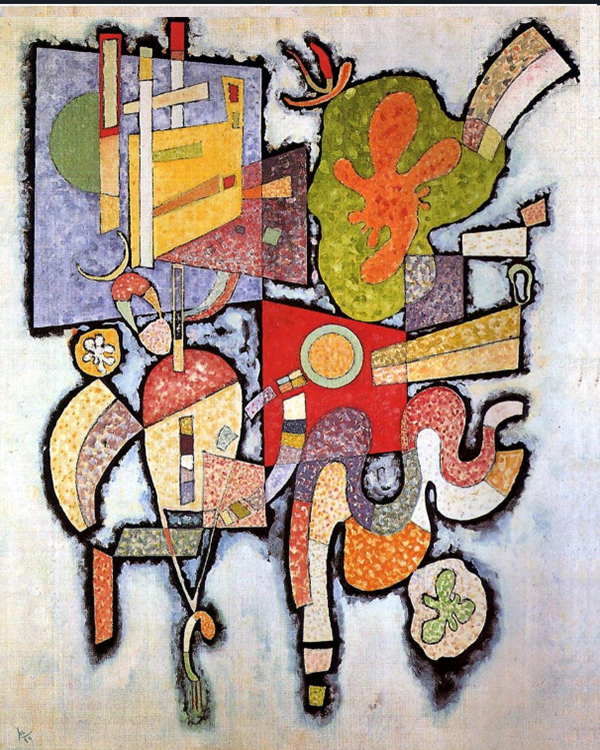 """1939 Complex Simple"" by  Wassily Kandinsky"