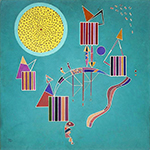 1942 In-Time Message by  Wassily Kandinsky (Painting ID: AA-0174-KA)