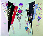 1942 Reciprocal Accords by  Wassily Kandinsky (Painting ID: AA-0175-KA)