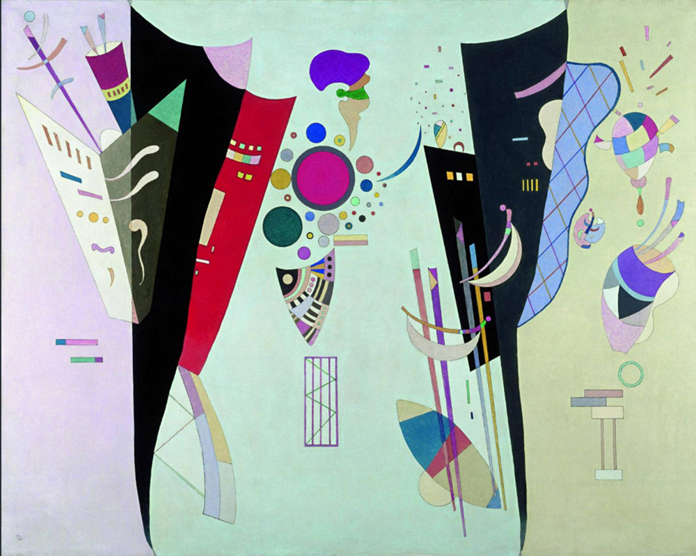 1942 Reciprocal Accords by Wassily Kandinsky | Oil On Canvas Painting - Oil Paintings Gallery