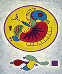 1944 Untitled by  Wassily Kandinsky (Painting ID: AA-0181-KA)