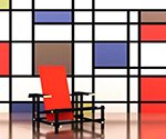 Chair by  Piet Mondrian (Painting ID: AA-0301-KA)