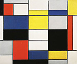 Composition by  Piet Mondrian (Painting ID: AA-0313-KA)