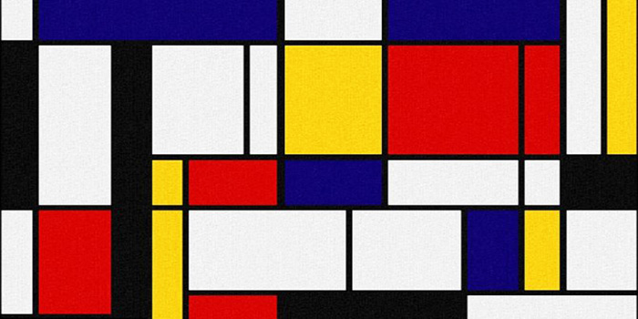 Lessons by Piet Mondrian | Abstract Contemporary Paintings - Oil Paintings Gallery